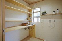 奈良木の家、奈良注文住宅、奈良で家をたてるなら、平野木材、無垢、収納、オーガナイザー