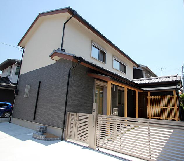奈良の木の家 外観