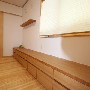 奈良の木の家 収納