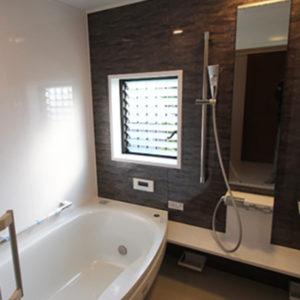 奈良の木の家 バスルーム