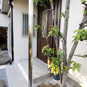 奈良の木の家 玄関