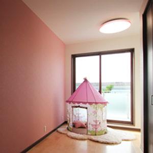 奈良で旧家リフォームなら平野木材子供部屋