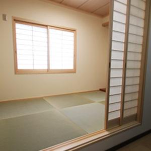 奈良で旧家リフォームなら平野木材和室