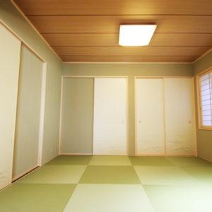 奈良で敷地を活かした木の家設計なら平野木材 和室