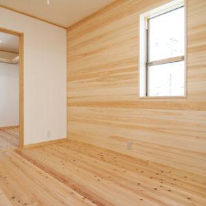 奈良の木と漆喰の家なら平野木材 洋室