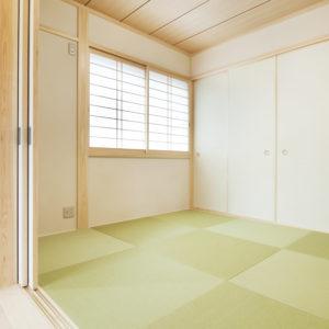 奈良の木と漆喰の家なら平野木材 和室