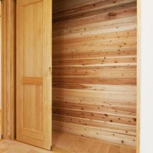 奈良の木と漆喰の家なら平野木材 収納