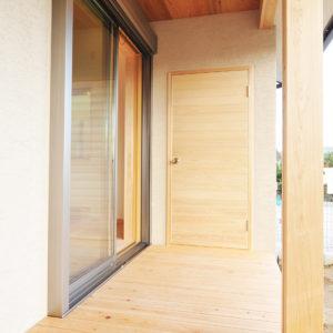 奈良の木と漆喰の家なら平野木材 縁側