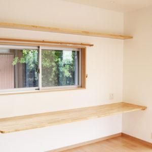 奈良で金属サイディングの木の家なら平野木材 カウンター