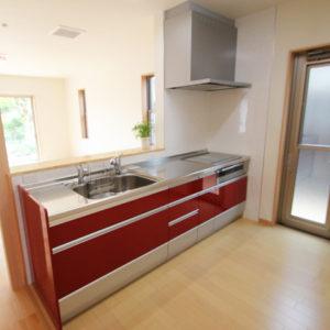 奈良でスタイリッシュな木の家なら平野木材 キッチン