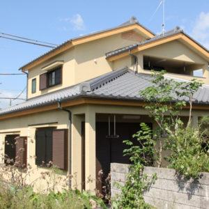 奈良でバリアフリーの木の家 なら平野木材 外観