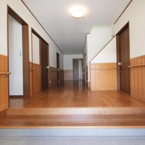 奈良でバリアフリーの木の家 なら平野木材 玄関