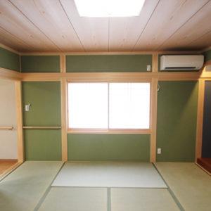 奈良でバリアフリーの木の家 なら平野木材 和室