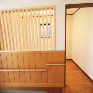 奈良でバリアフリーの木の家 なら平野木材 手すり