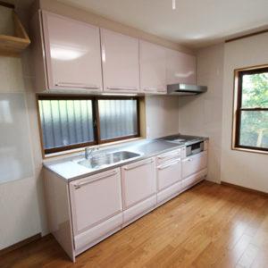 奈良でバリアフリーの木の家 なら平野木材 キッチン