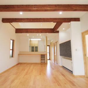 奈良でさくら無垢木の家 ダイニング平野木材