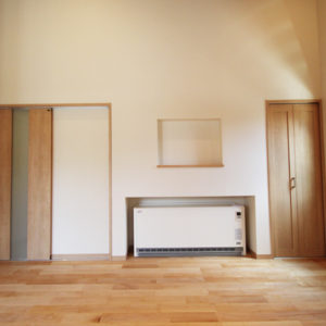 奈良で和風モダンの木の家 洋室平野木材