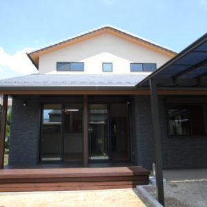 奈良の和風モダン木の家 外観平野木材