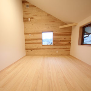 奈良の木の家 洋室