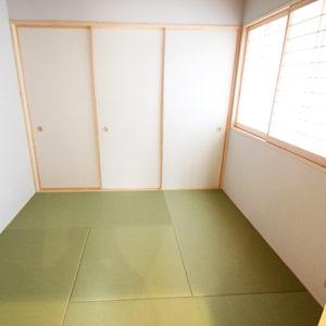 奈良でひのき無垢材の木の家 和室平野木材