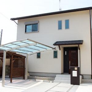 奈良の木の家 家事らくの家外観 平野木材