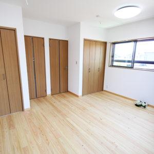 奈良の家事が楽な木の家 洋室平野木材