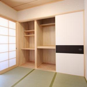 奈良の家事が楽な木の家 和室平野木材