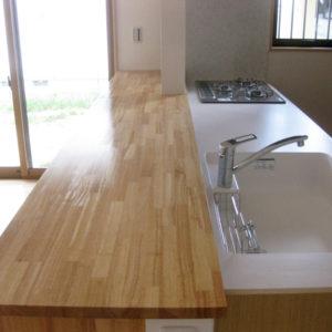 奈良で暮らしやすい木の家なら平野木材 キッチン