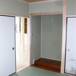 奈良で暮らしやすい木の家なら平野木材和室