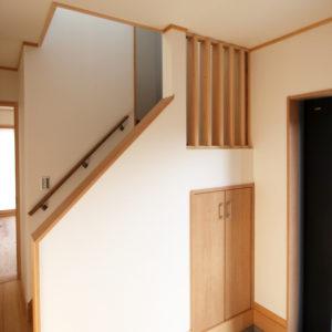 奈良で幸せ家族を育む木の家なら平野木材 階段