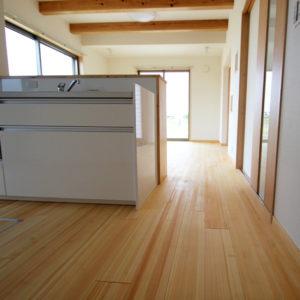 奈良で幸せ家族を育む木の家なら平野木材 キッチン