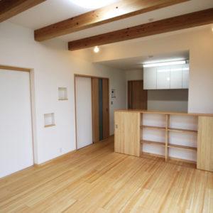 奈良で幸せ家族を育む木の家なら平野木材 リビング