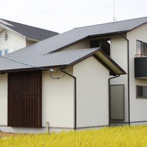 奈良で土地を活かした木の家なら平野木材 外観
