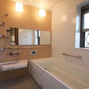 奈良で土地を活かした木の家なら平野木材 浴室