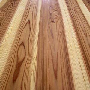 奈良で土地を活かした木の家なら平野木材 杉無垢床