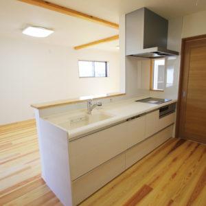 奈良で土地を活かした木の家なら平野木材 キッチン