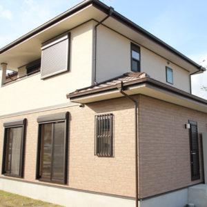 奈良で構造にひのき無垢材の木の家なら平野木材 外観