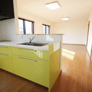 奈良で構造にひのき無垢材の木の家なら平野木材 キッチン