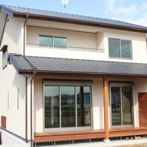 奈良で奈良の木を使った家なら平野木材 外観
