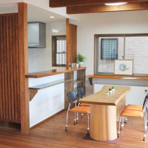 奈良で奈良の木を使った家なら平野木材リビング