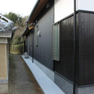 奈良の木の家 外壁