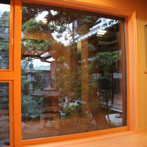 奈良の木の家 窓