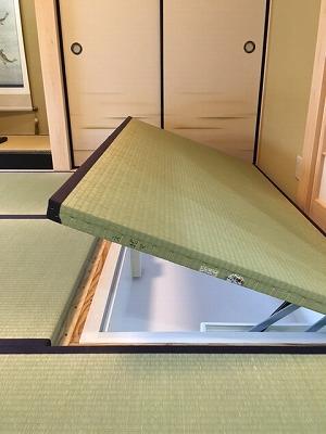 電動収納、奈良木の家、パッシブデザイン