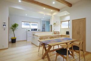 奈良木の家.注文住宅.バリアフリー