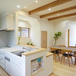 奈良の木の家 キッチン