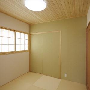 奈良の木の家 木が大好き和室 平野木材