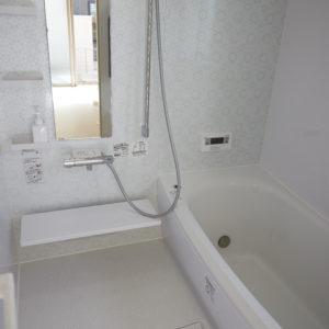 奈良の木の家 木が大好き浴室 平野木材