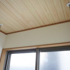 奈良の木の家 木が大好き天井 平野木材