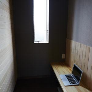奈良の木の家 木が大好き書斎 平野木材