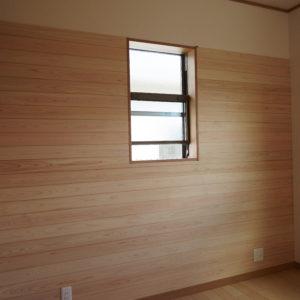 奈良の木の家 木が大好き板張り壁 平野木材